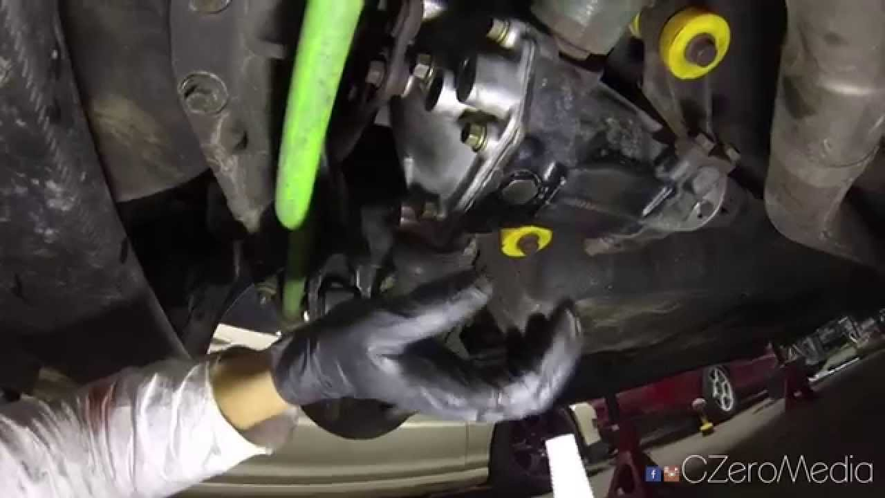 Evo How To Change Rear Differential Fluid Youtube