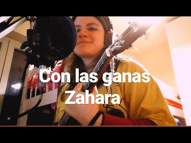 con las ganas- zahara (ukulele cover) Chords - Chordify