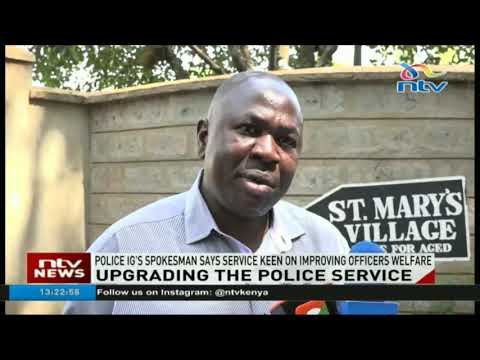 Police service keen on improving officers welfare - Charles Owino