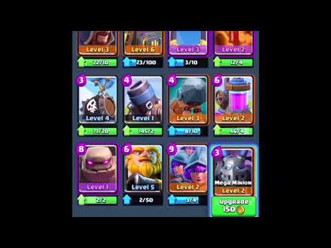 Clash Royale stream 1 (sorry for bad footage)