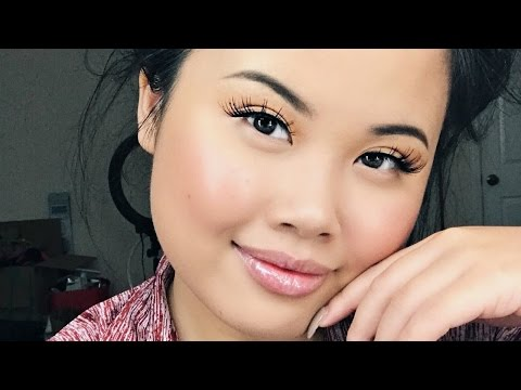 NATURAL+RAW+SIMPLE+EASY+QUICK MAKEUP TUTORIAL (Chill Chit Chat) | KIM THAI