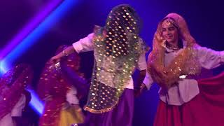 Folksey Indians performing a Rajasthani Folk Dance at Christchurch Diwali 2017