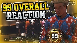 99 OVERALL REACTION | THE FIRST 99 SHOT CREATING POST SCORER | 7,000 PARK WINS | NBA 2K19 STAGE