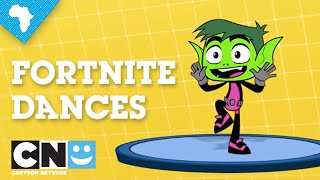CN Fortnite Dances | Cartoon Network Africa