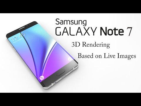 This is what the Samsung Galaxy Note 7 might look like (3D video)