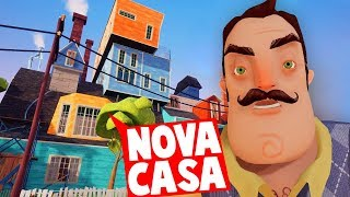 *NOVA* CASA DE HELLO NEIGHBOR! O VIZINHO VOLTOU! | Hello Neighbor