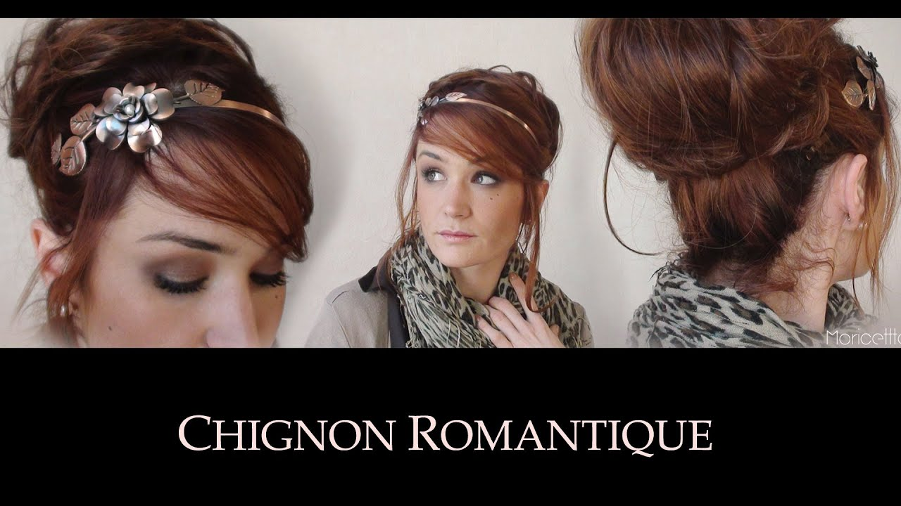 chignon romantique facile 30secondes youtube. Black Bedroom Furniture Sets. Home Design Ideas