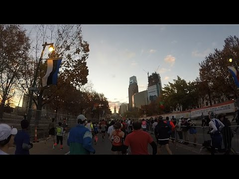Philadelphia Marathon 2016 (GoPro)