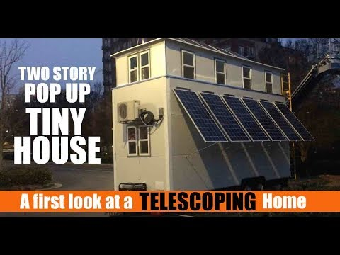 A Two Story Pop Top Tiny House Is It Possible Youtube