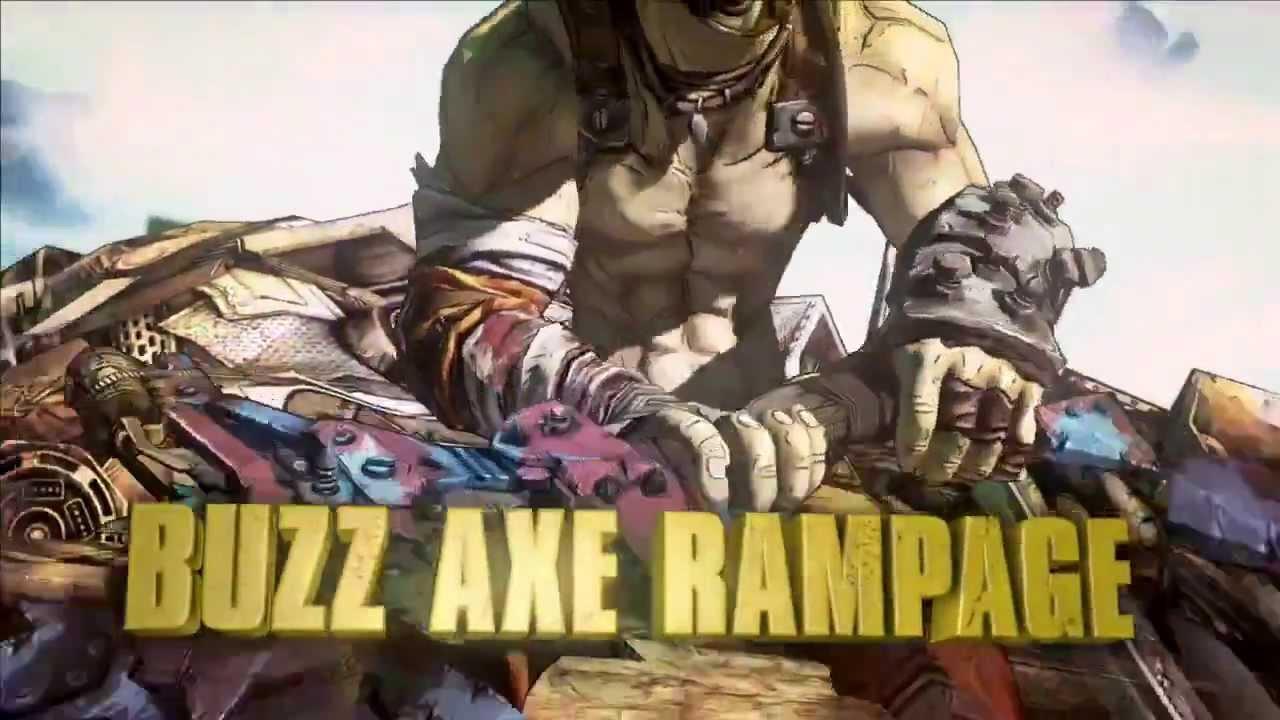 Borderlands 2 - Krieg The Psycho Pack DLC Launch Trailer ... Borderlands 2 Max Backpack