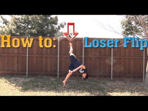 How To Do A Loser Flip   Tutorial - Short Breakdown