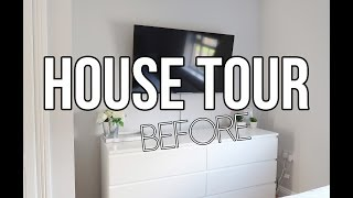 HOUSE TOUR BEFORE || LIZA PRIDEAUX