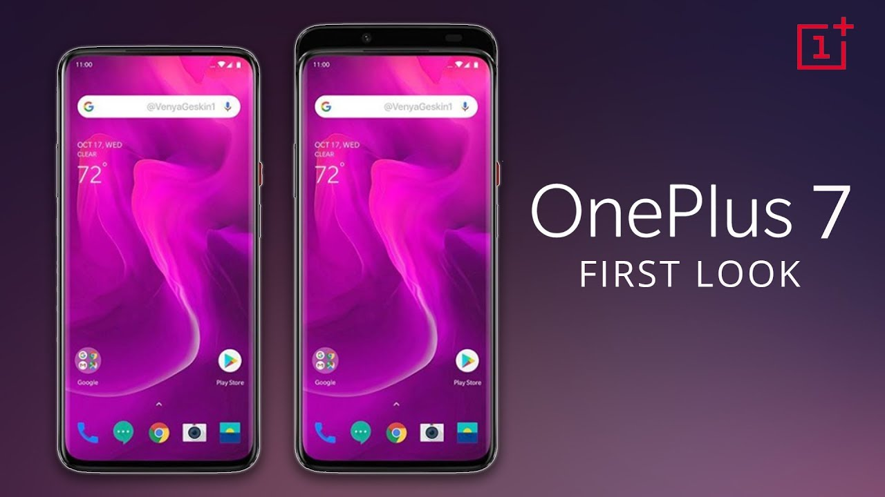 OnePlus 7 First Look | OnePlus 7 Price, Specifications, Release Date in  INDIA
