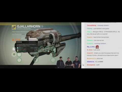 Bungie - Full Reef Reveal (with Twitch comments)