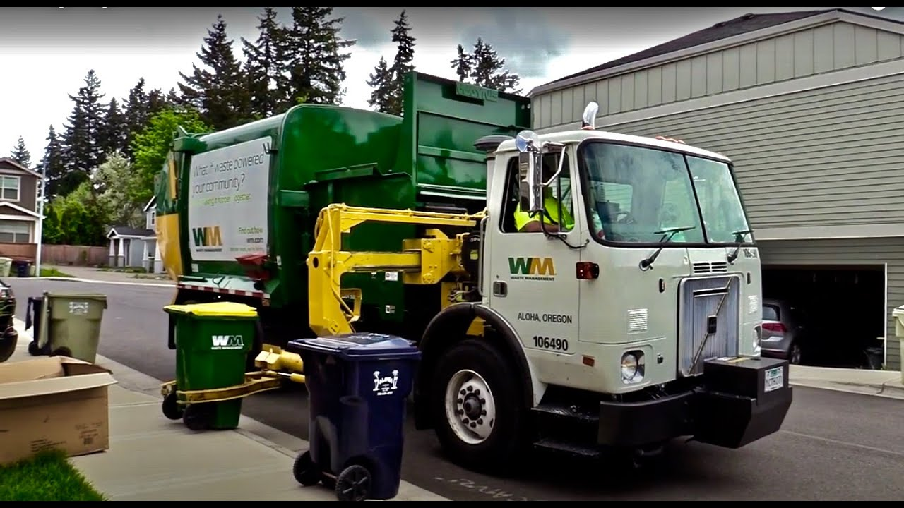 Aloha Garbage Co./ Waste Management Compilation! (Residential)