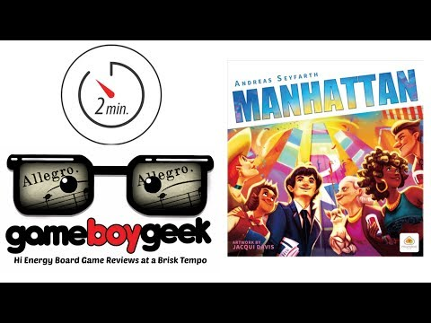 Manhattan (Allegro 2-min) Review with the Game Boy Geek