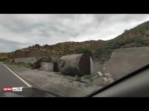 Տեսանյութ.Ադրբեջանցիները Սյունիքի սահմանին լցակայան են կառուցում