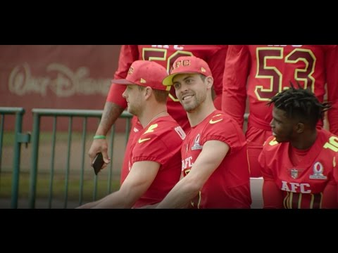 Watch How Justin Tucker Spends Pro Bowl Practice | Baltimore Ravens