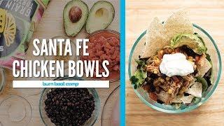 SANTA FE CHICKEN BOWLS   Quick, Easy & Flavorful Insta-Pot Recipe