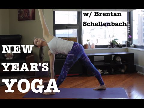 Brentan Schellenbach Yoga In Your Living Room