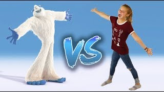 DO The YETI DANCE With the NEW Movie SMALLFOOT!!