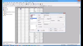 Analysis of Data from Split Plot Design in Genstat