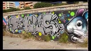 Depincor - Graffitis en Sacaba, Málaga.