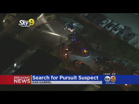 Police Pursuit Ends With 1 Of 3 Suspects Running Into Hospital