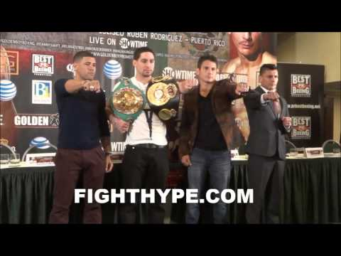 DANNY GARCIA VS. MAURICIO HERRERA PUERTO RICO PRESS CONFERENCE