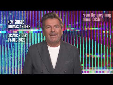 Thomas Anders announces NEWS for 🪐💥COSMIC RIDER💥🪐