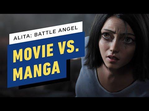 Alita: Battle Angel - Movie vs Manga with Robert Rodriguez