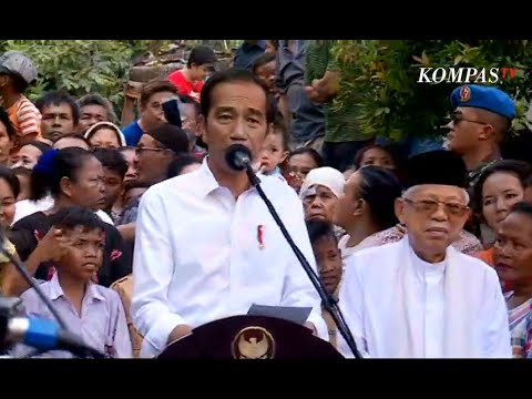FULL - Pidato Pertama Jokowi-Amin Pasca Menang Pemilu