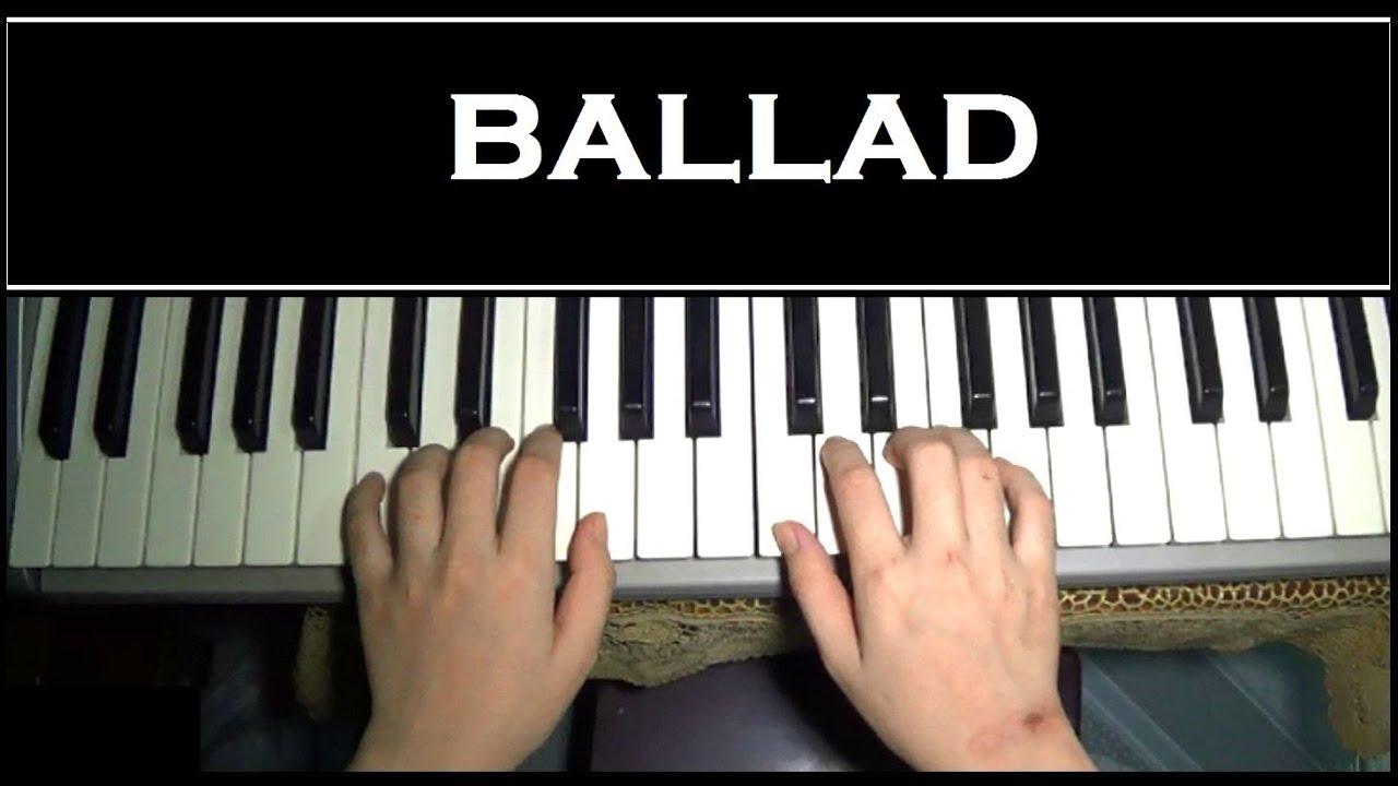 Hướng dẫn đệm hát Ballad đơn giản | Piano Tutorial | Bội Ngọc Piano