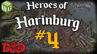 Escaping the Catacombs - Heroes of Harinburg Ep 4 - Dungeons and Dragons Campaign