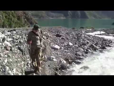 Кыргызстан 2016 - озеро Кара суу , речка Шебе ,ущелье,  дорога к озеру