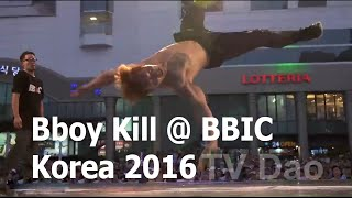 bboy kill gamblerz crew at bbic korea 2016