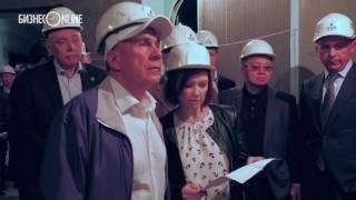 Минниханов и Шаймиев осмотрели строящийся гостиничный комплекс «Кул Гали» в Болгаре