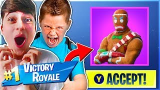 'If We Win I Will Buy You Any Skin!' In Fortnite Battle Royale!