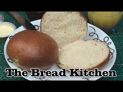 How to Make Brioche Rolls / Burger Buns in The Bread Kitchen