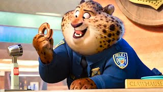 Judy Meets Clawhauser Scene - ZOOTOPIA (2016) Movie Clip