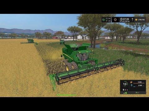 Farming Simulator 17 Timelapse #30 | Southern Cross station ( Australia }
