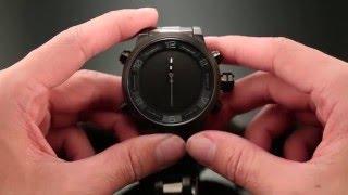 Акула спортивні годинник LED цифрові годинник налаштування інструкція