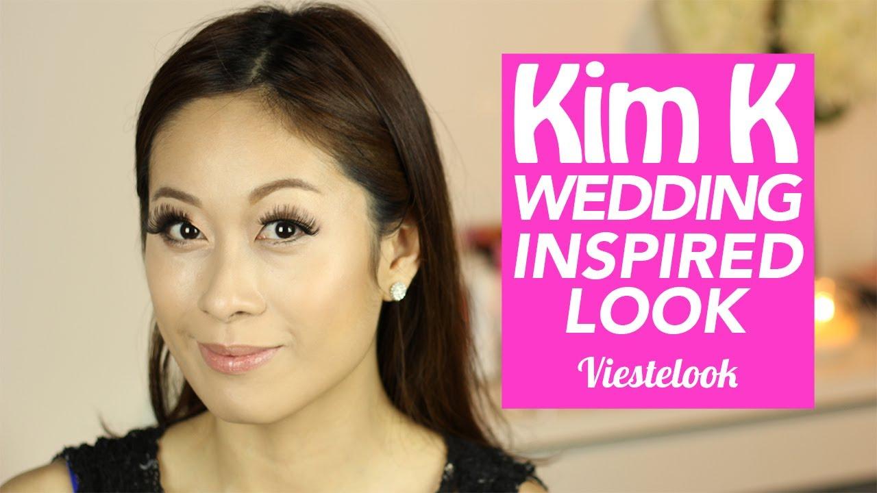 kim kardashian wedding 2014 inspired makeup amp hair
