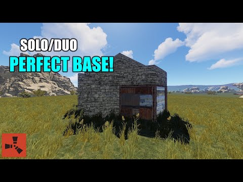 🛠SOLO/DUOS PERFECT BASE DESIGN🛠  [RUST TUTORIAL] thumbnail