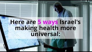 #HealthForAll - Israel Marks World Health Day