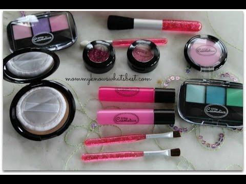 Little Cosmetics Pretend Makeup Set Littlecosmetics Youtube