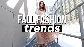 Fall Fashion Trends 2015