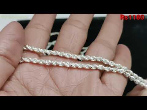 Latest Silver Chain Design For Girl || Silver Chain Designs For Women
