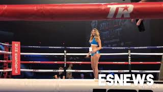 Ring Girls Before the fights top rank knockouts