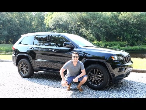 2016 Jeep Grand Cherokee 75th Anniversary Highlights + Speed Test
